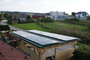 Unsere Solarstromanlage